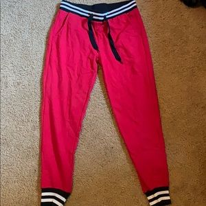 Red Jogger Pants Rue 21